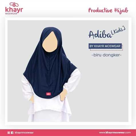 Adiba Kids Biru Dongker