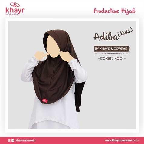 Salestock Adiba Kids Coklat Kopi
