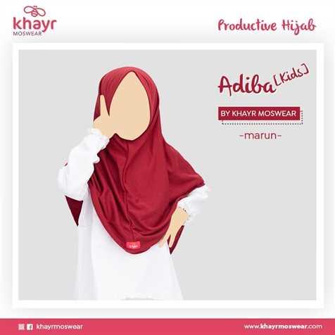 Adiba Kids Marun