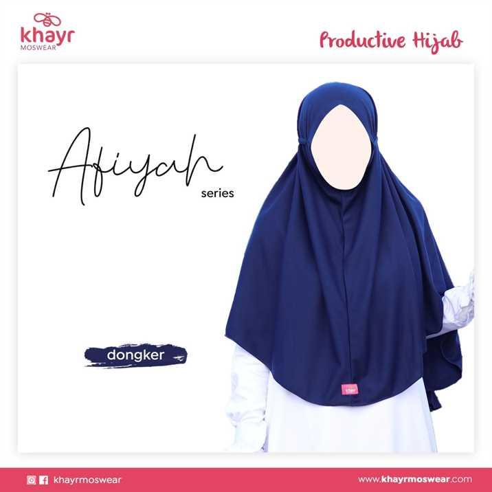 Afiyah Biru Dongker