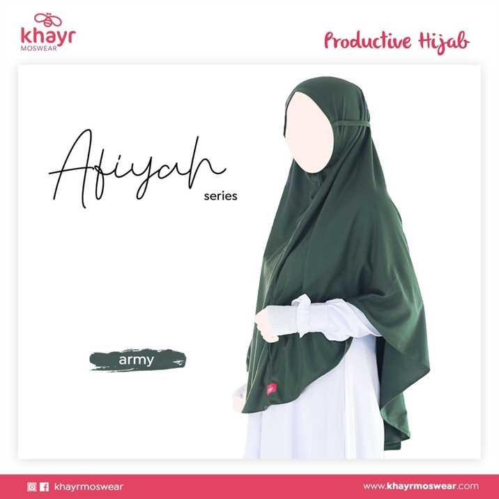 Afiyah Hijau Army