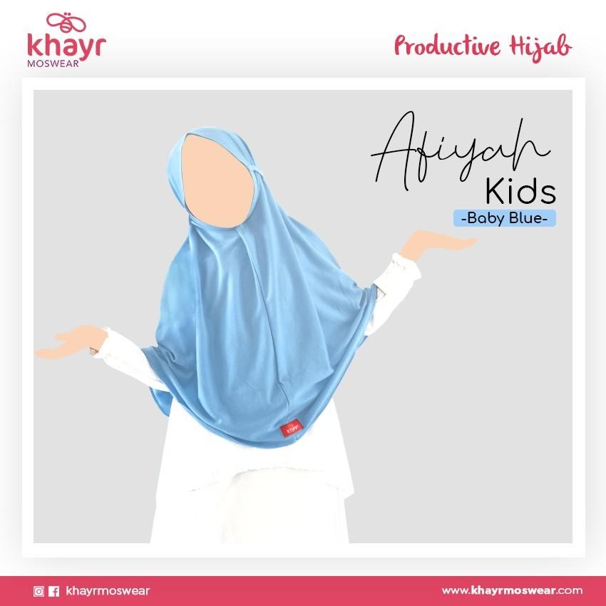Afiyah Kids Baby Blue