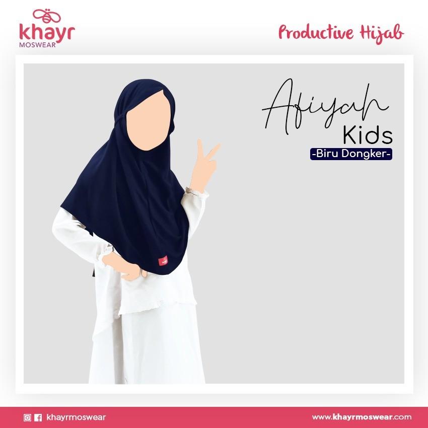 Afiyah Kids Biru Dongker