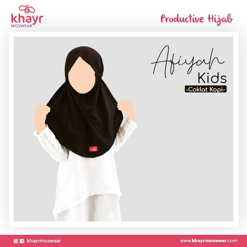 Afiyah Kids Coklat Kopi