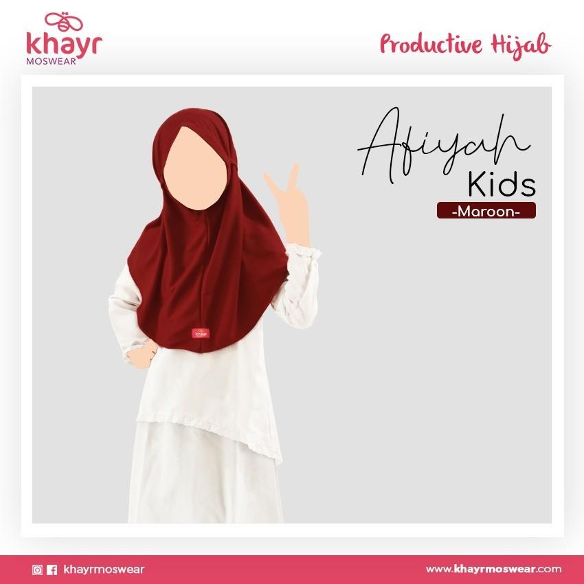 Afiyah Kids Marun
