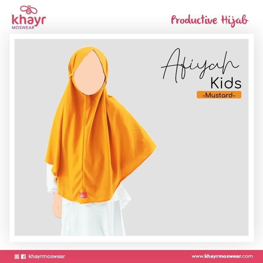 Afiyah Kids Mustard