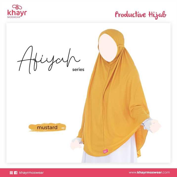 Afiyah Kuning Mustard