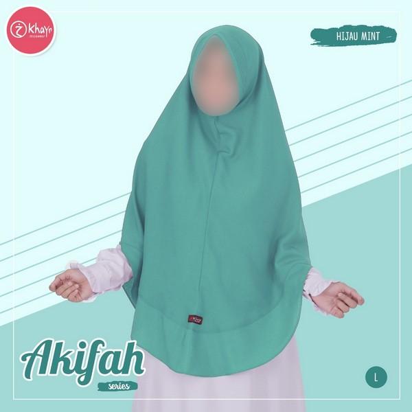 Akifah Hijau Mint
