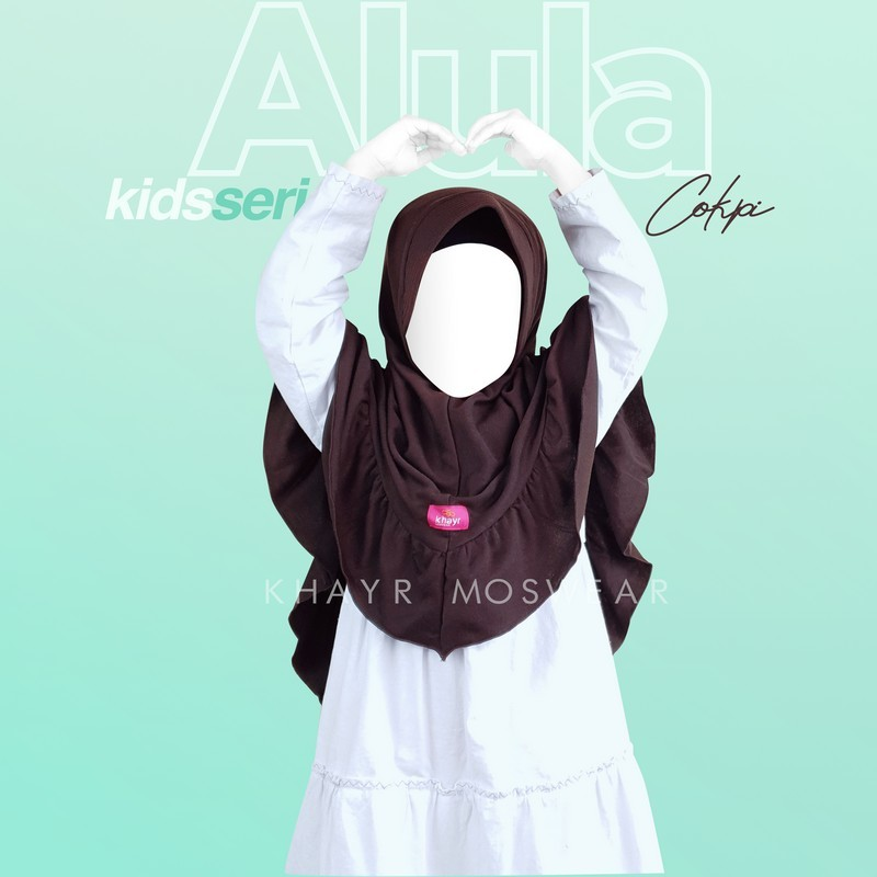 Alula Kids Coklat Kopi