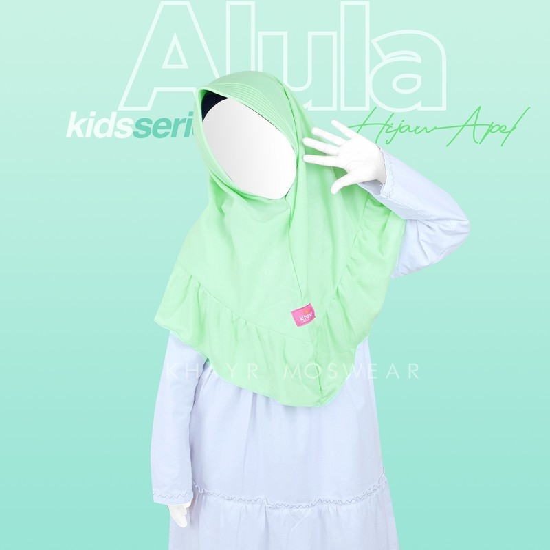 Alula Kids Hijau Apel