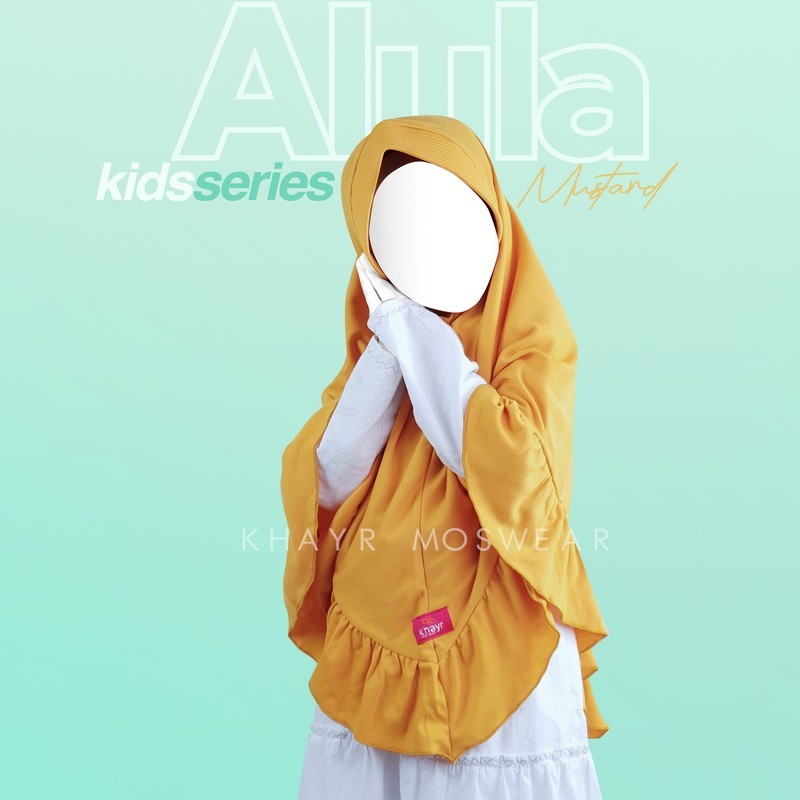 Alula Kids Kuning Mustard
