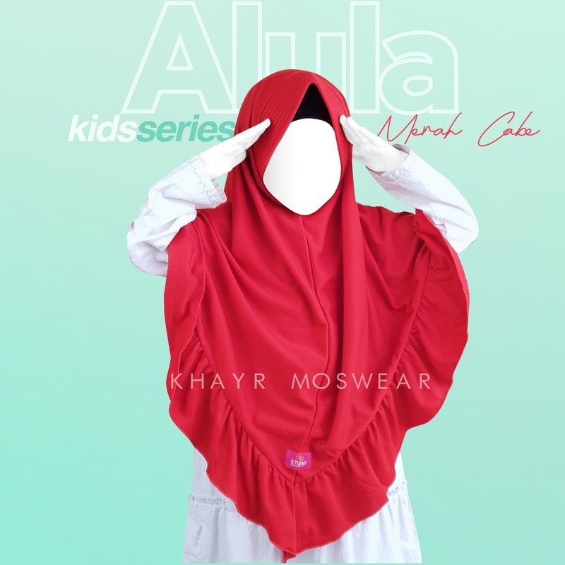 Alula Kids Merah Cabe