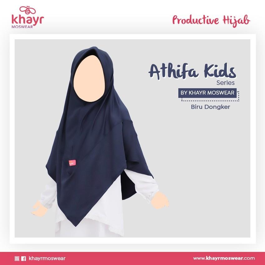 Athifa Kids Biru Dongker