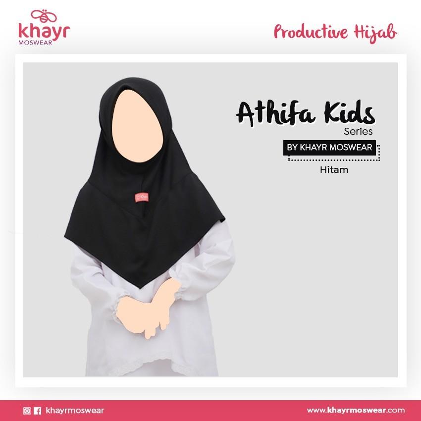 Athifa Kids Hitam