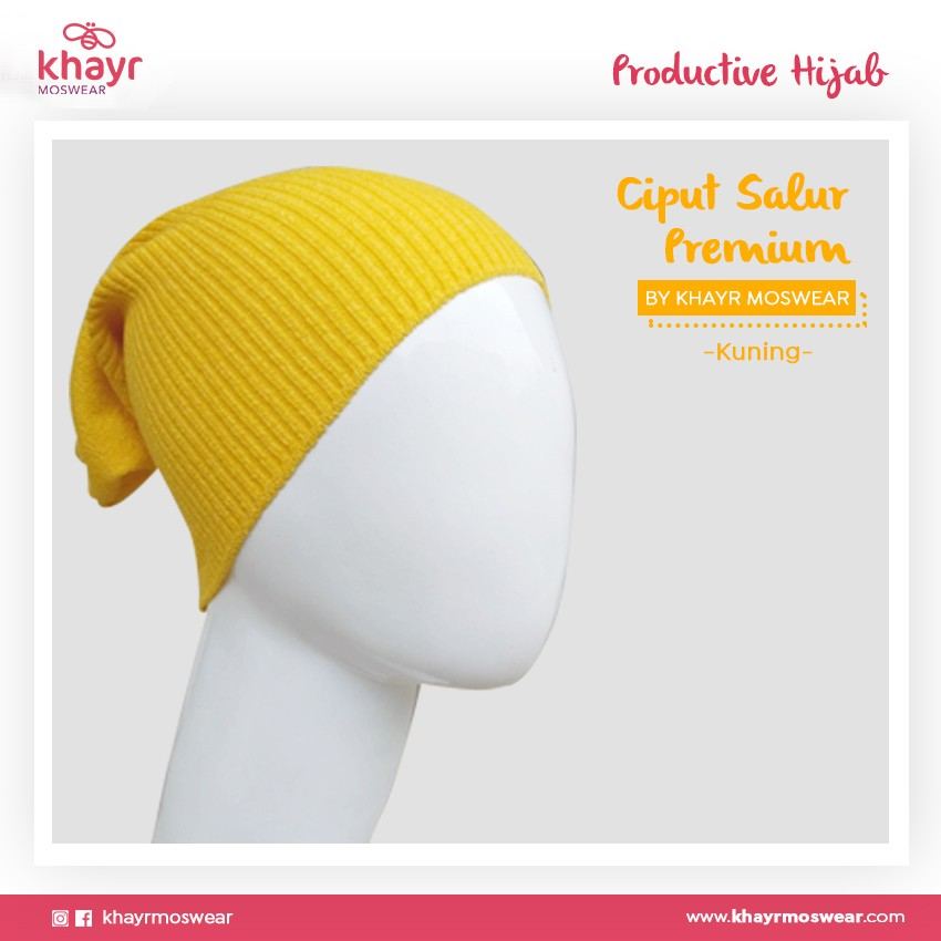 Salestock Ciput Salur 14 Kuning
