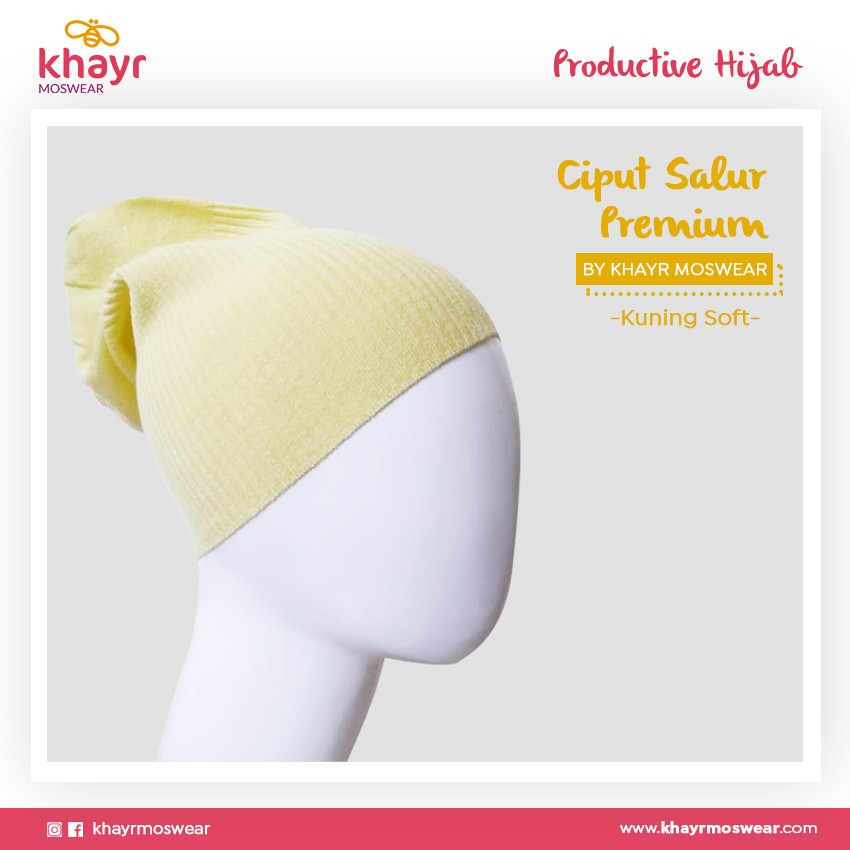 Salestock Ciput Salur 15 Kuning soft