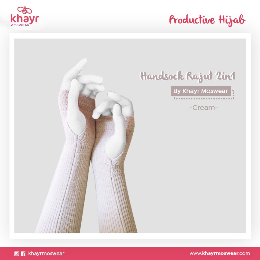 Handsock 2in1 08 Cream