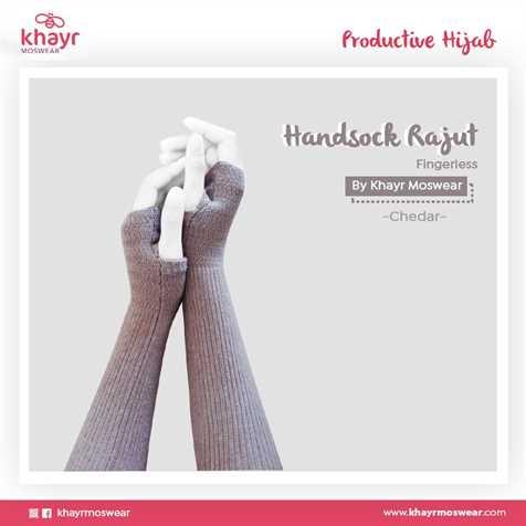 Handsock Fingerless 07 Chedar
