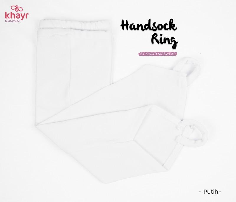 Handsock Ring Putih