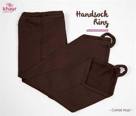 Handsock Ring Coklat Kopi