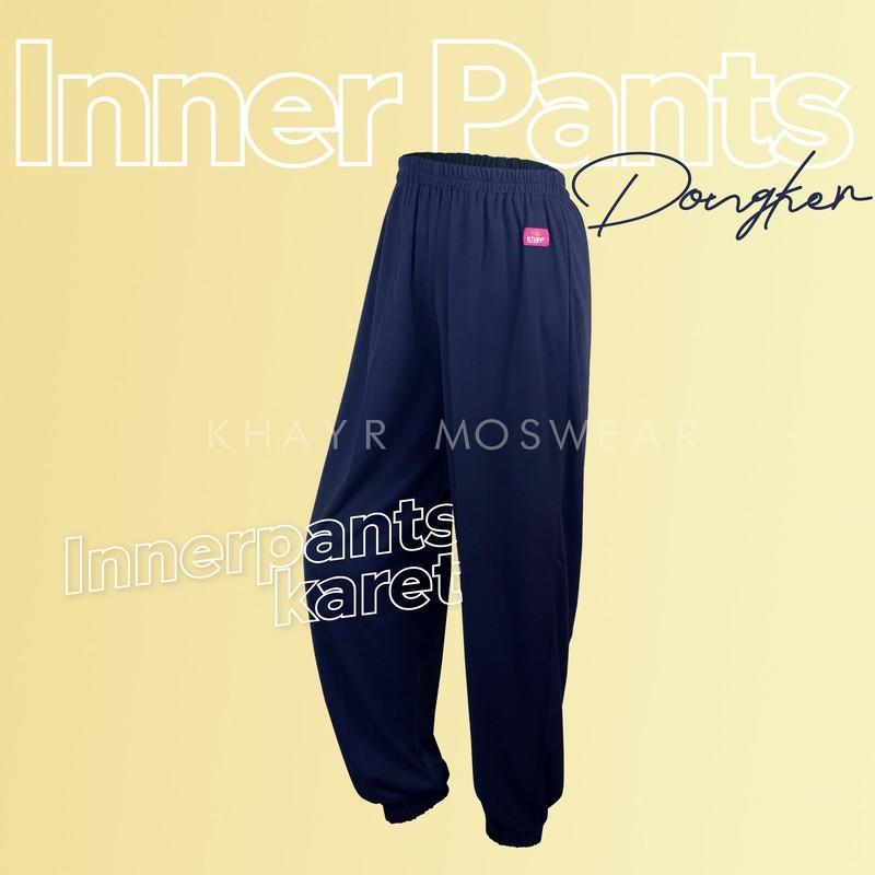 Inner Pants Karet Biru Dongker