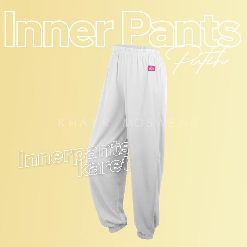 Inner Pants Karet Putih