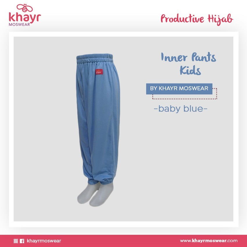 Inner Pants Kids Baby Blue