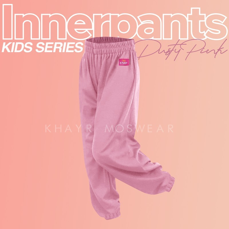 Inner Pants Kids Dusty Pink