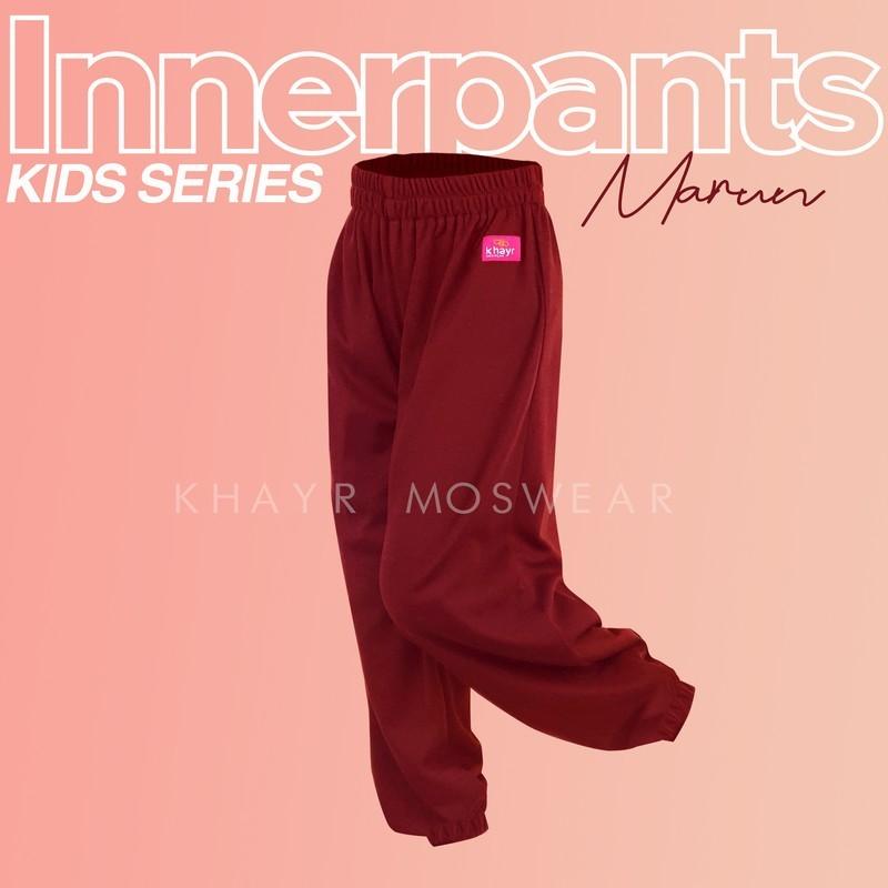 Inner Pants Kids Marun