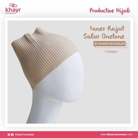 Inner Rajut Onetone 09 Cream