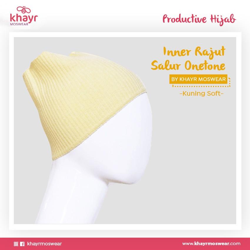 Inner Rajut Onetone 14 Kuning Soft
