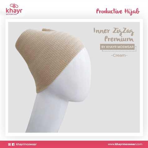 Rijek Inner Zigzag Onetone 05 Cream