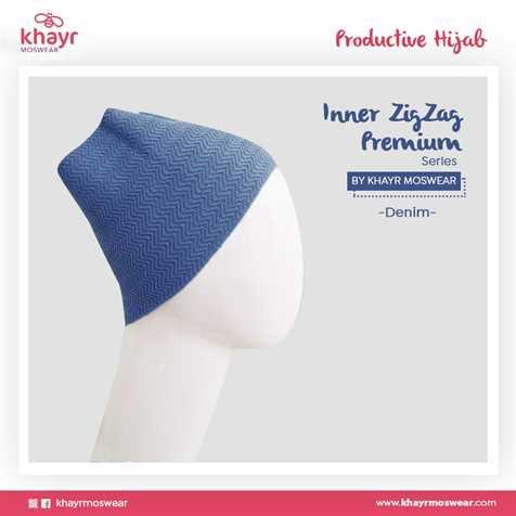 Inner Zigzag Onetone 07 Denim