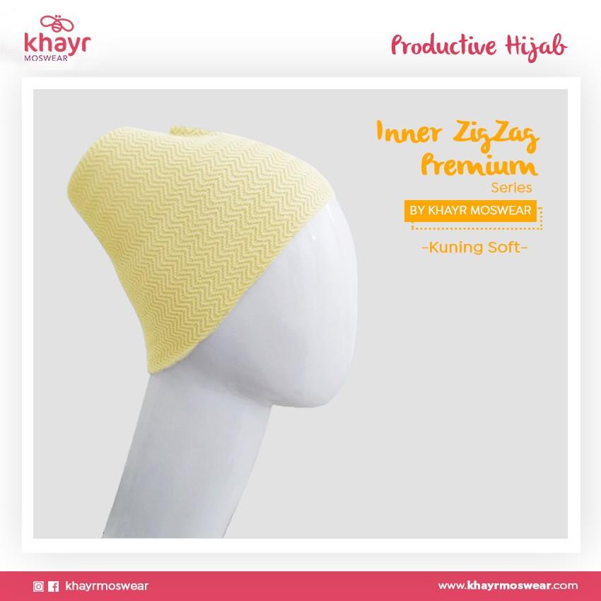 Inner Zigzag Onetone 10 Kuning soft