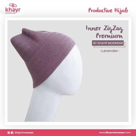 Inner Zigzag Onetone 11 Lavender