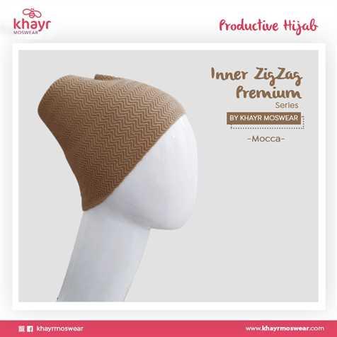 Inner Zigzag Onetone 14 Mocca