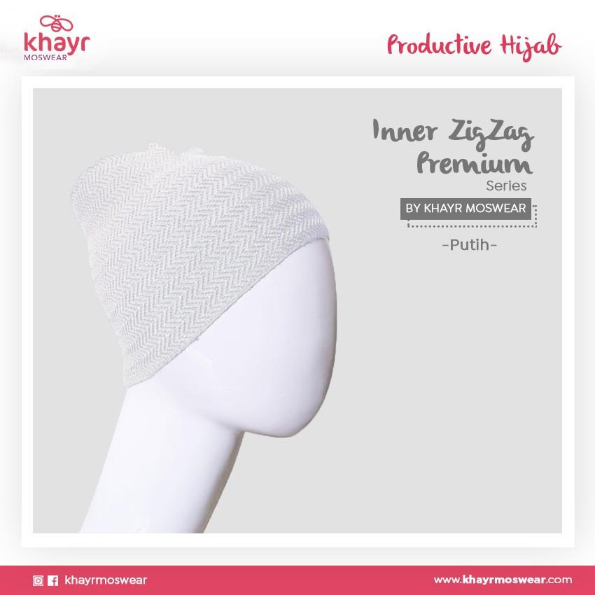 Inner Zigzag Onetone 16 Putih
