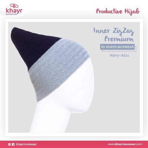 Inner zigzag Twotone 21 (Navy - Abu)