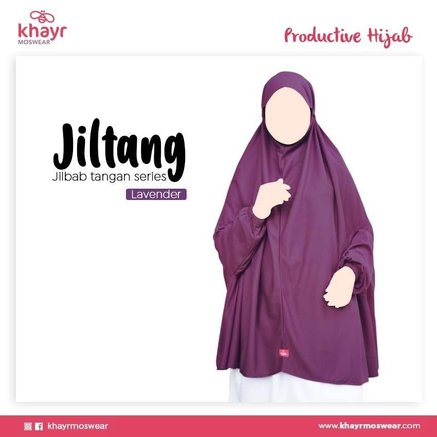Jilbab Tangan Series Lavender
