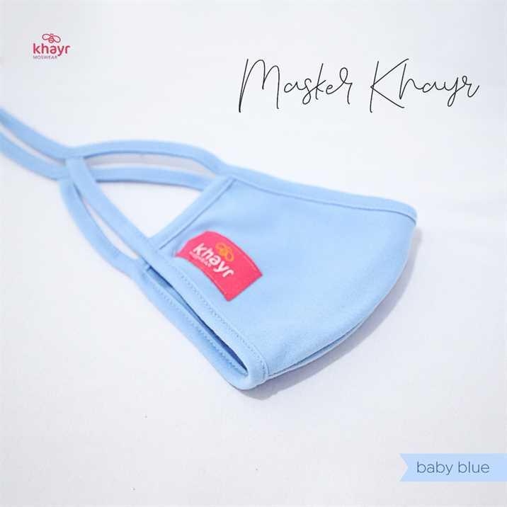 Masker Khayr Baby Blue