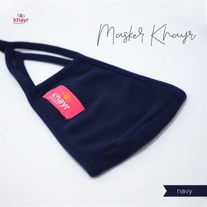 Masker Khayr Navy