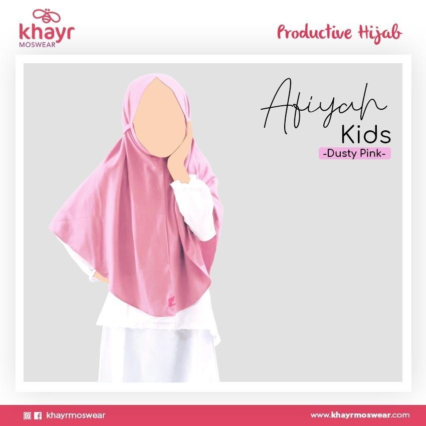 Rijek Afiyah Kids Dusty Pink