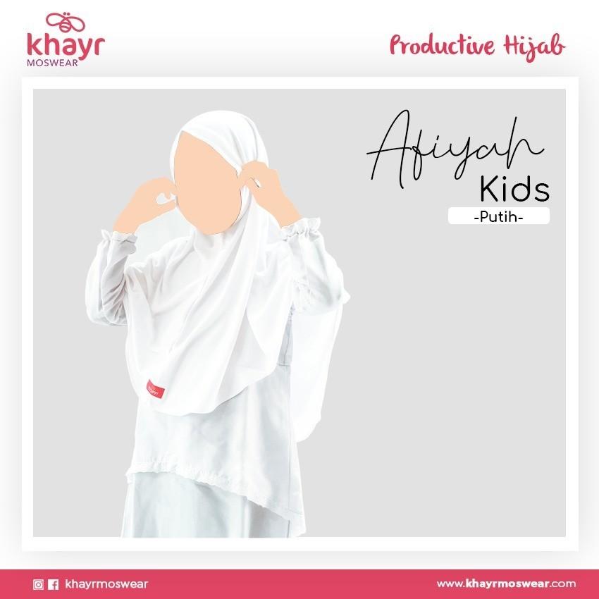 Rijek Afiyah Kids Putih