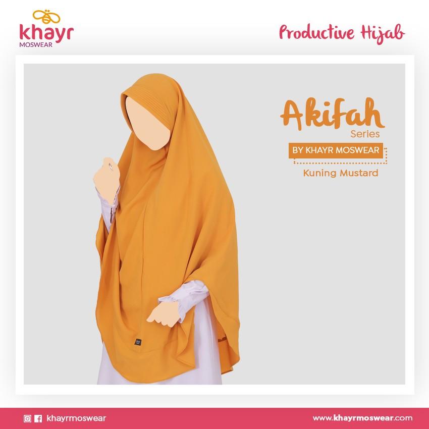 Rijek Akifah Kuning Mustard
