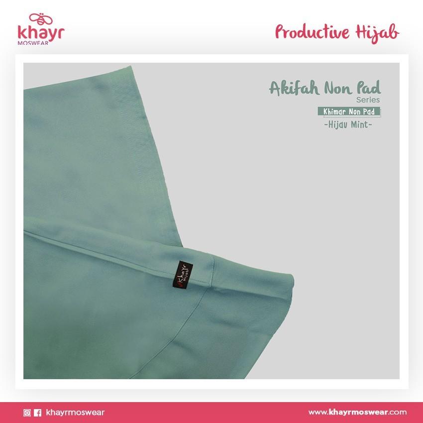 Rijek Akifah Hijau Mint (Nonpad)
