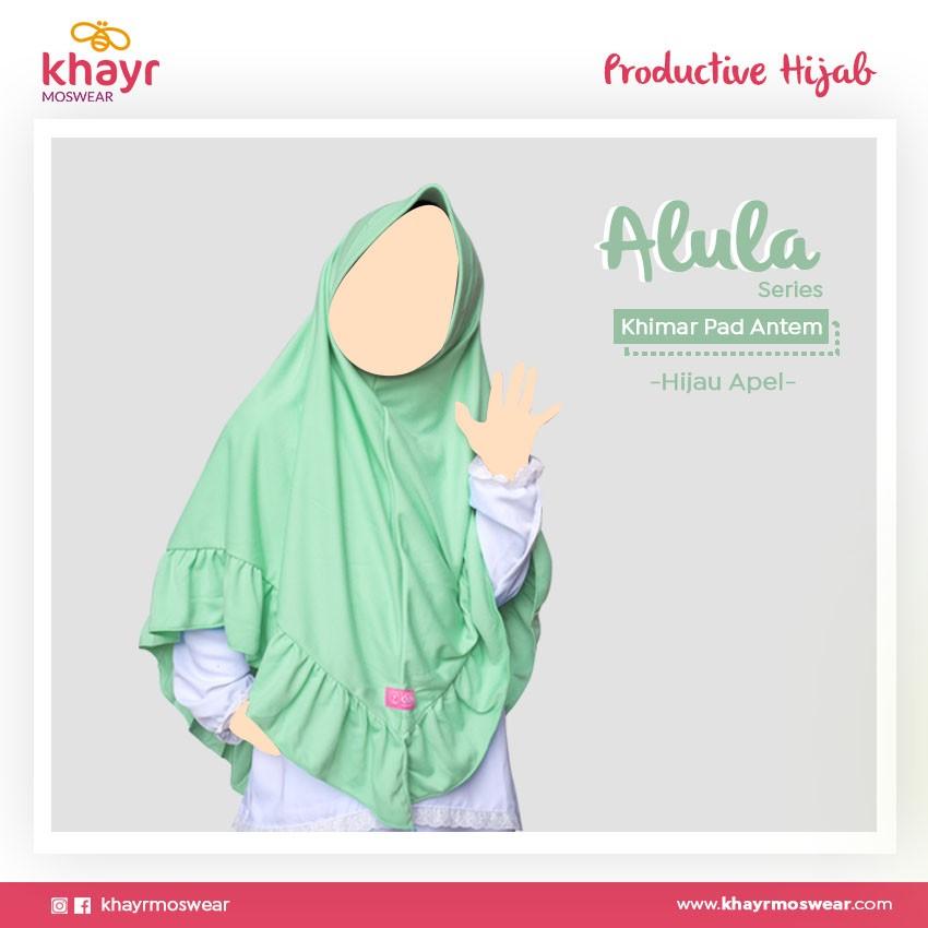 Rijek Alula Kids Hijau Apel