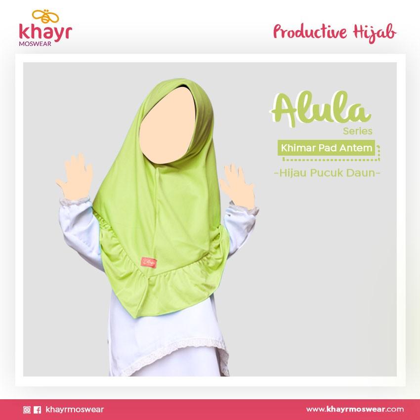 Rijek Alula Kids Hijau Pucuk Daun