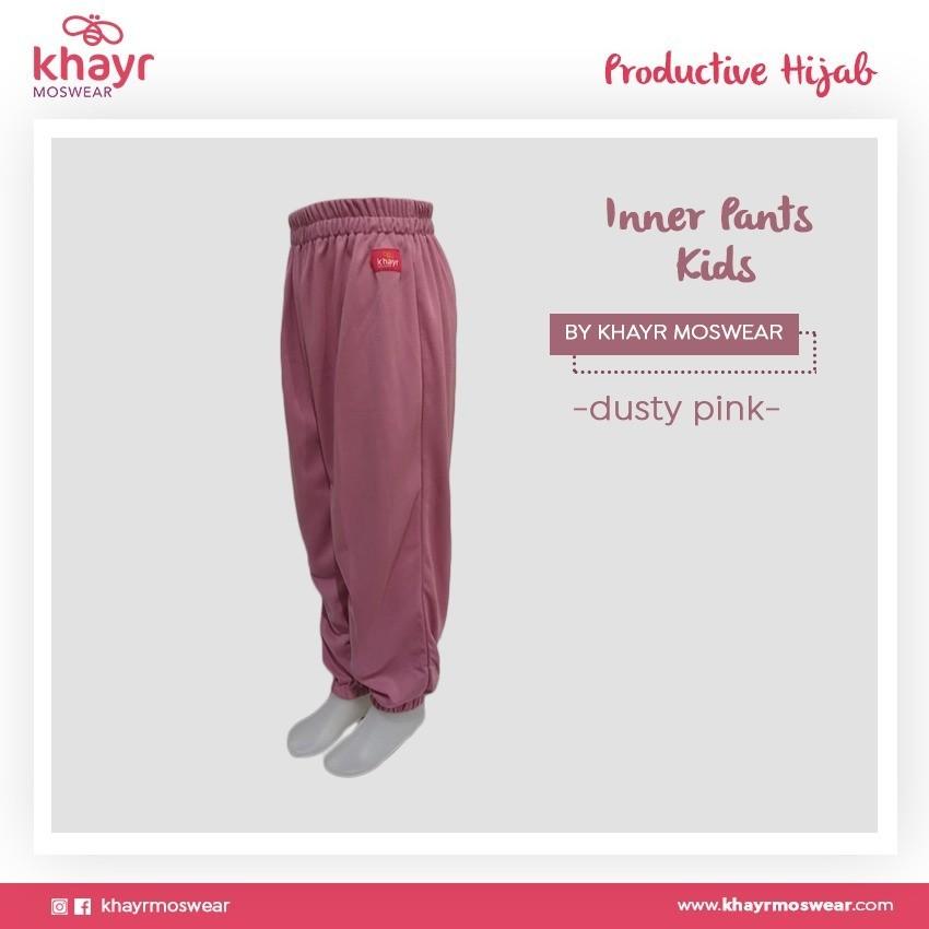 Rijek Inner Pants Kids Dusty Pink
