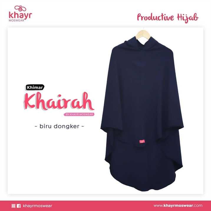 Rijek Khairah Biru Dongker