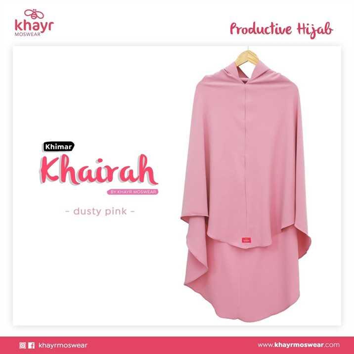 Rijek Khairah Dusty Pink